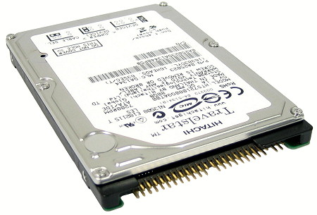 HITACHI Travelstar 7K100 HTS721080G9AT00 (0A25023) 80GB 7200 RPM
