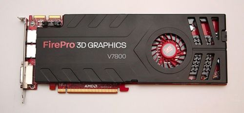 ATI 100-505604 FirePro V7800 2GB GDDR5 PCI Express 2.0 x16 CrossFire Supported Video Card