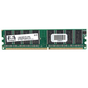 1GB 333MHz PC2700 184 Pin Non-ECC System Memory