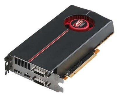 ATI Radeon HD 5770 Graphics Adapter 1GB PCIe 2.1 x16 HDMI DP DVI-I HP 603498-001