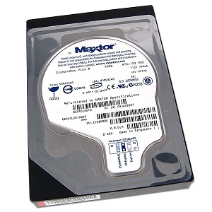 Maxtor 6E040L0 Diamond Max Plus 8 40GB 7200RPM 2MB IDE / ATA Hard Drive