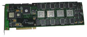 Brooktrout 900-918-08 TR114+P8V 8-PORT MVIP FAX / MODEM PCI CARD