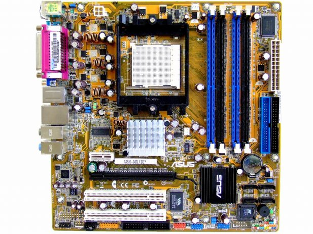 ASUS A8R-MX/DP ATI XPRESS 200 Socket-939 Athlon 64 X2 Motherboard