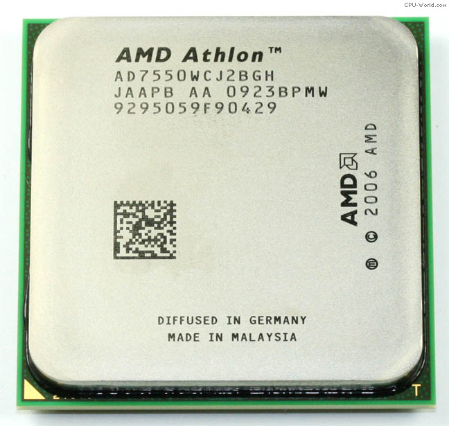 AMD Athlon AD7550WCJ2BGH X2 Dual-Core Processor AMD Desktop CPU