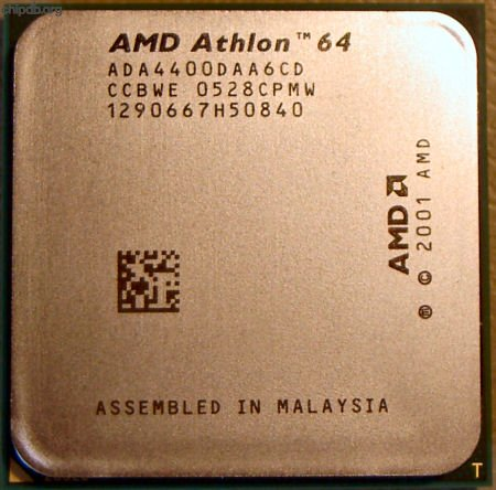 AMD Athlon X2 Dual-Core 4400+ 2.2GHz 2000MHz FSB 2MB L2 Cache Socket 939 Processor OEM Mfr P/N ADA4400DAA6CD