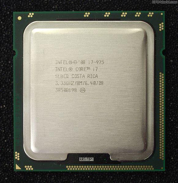 Intel Core i7 Extreme Edition 975 SLBEQ 3.33 GHz AT80601002274AA