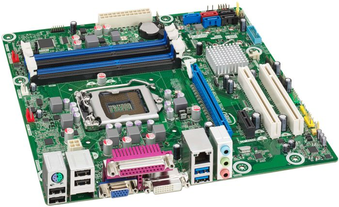 Intel BLKDQ77CP Executive Q77 Express LGA-1155 DDR3 SDRAM mATX Motherboard