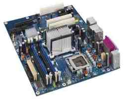 Intel Express G965 LGA775 Socket GbE Lan DDR2 RAM Support DG965WH Motherboard