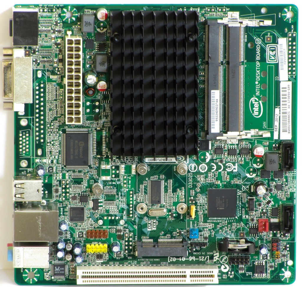 Intel BOXD2550DC2 D2550DC2 Desktop Board DDR3, HDMI.