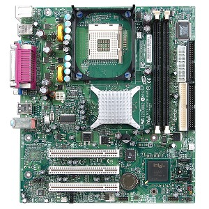 Intel D865GVHZ i865G Socket 478 m-ATX DDR400/333 w/Audio, Video