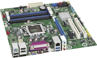Intel BLKDB75EN DB75EN Desktop Board DDR3, LGA1155, mATX New Bulk Packaging