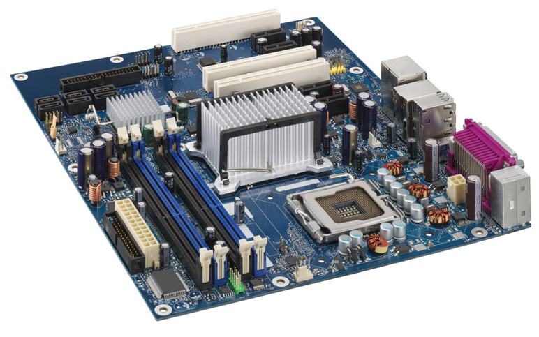 Intel DG965WH Motherboard ATX LGA775 DDR2 Supported GbE Lan G965