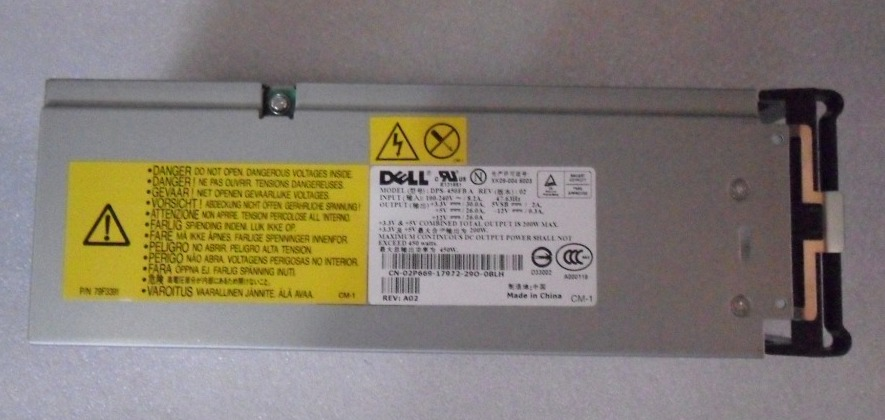 DELL DPS-450FB / N4531 450Watts Poweredge 1600SC Redundant Power Supply Unit
