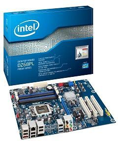 Intel BLKDZ68PL / DZ68PL Chipset-Z68 Socket-LGA1155 32Gb DDR3-1333MHz Dual Channel 24-Pin ATX Motherboard