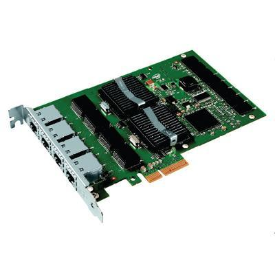 Intel PRO/1000 PT Quad Port Server Adapter Network adapter - PCI Express x4 - 4 ports