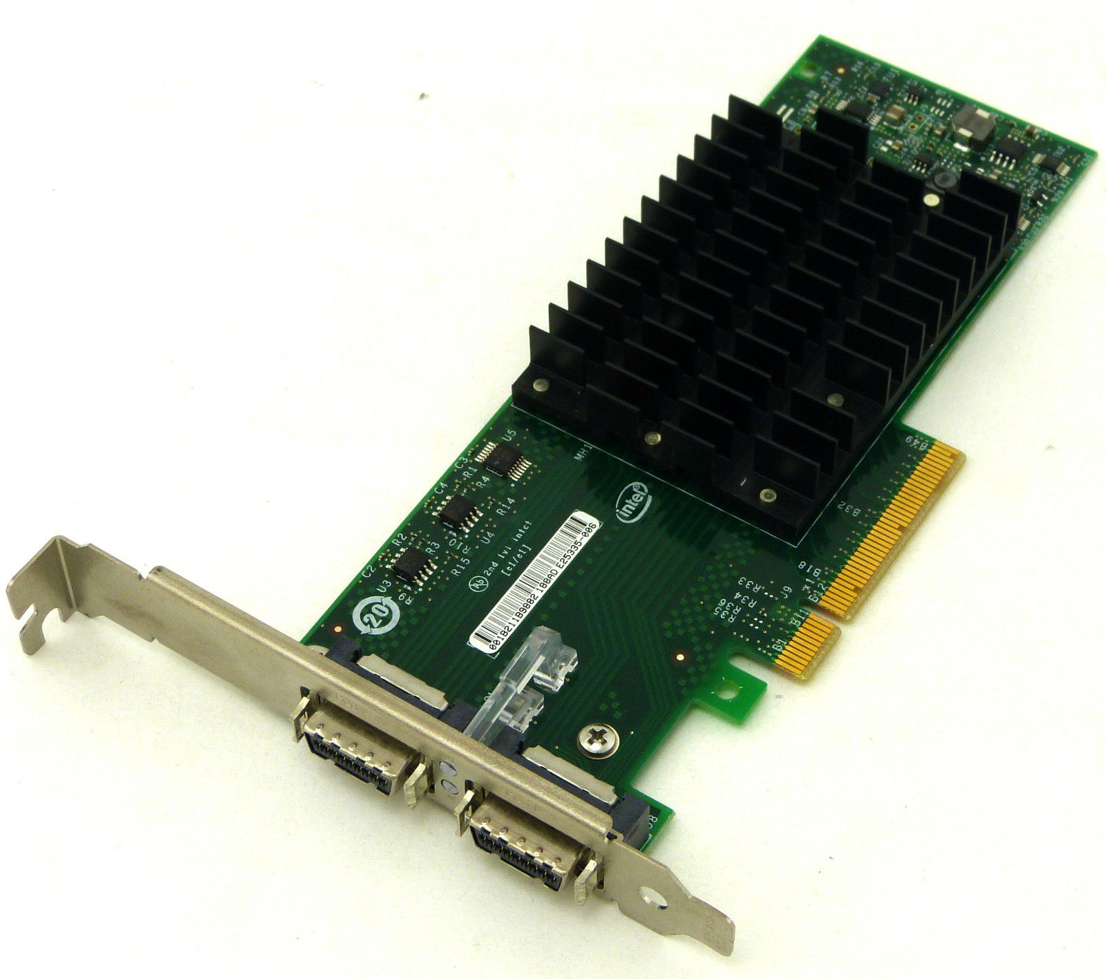 Intel EXPX9502CX4G1P5 EXPX9502CX4 10 Gigabit CX4 Dual Port Server Adapter