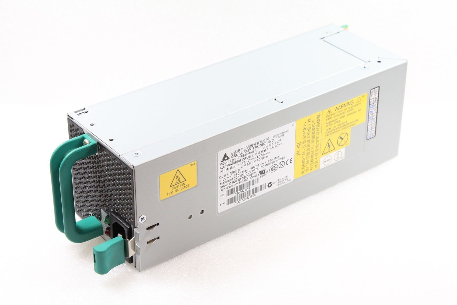 Intel FXX830WPSU 830 Watt PSU SC5400 Redundant Power Suppy Module Hot Swap