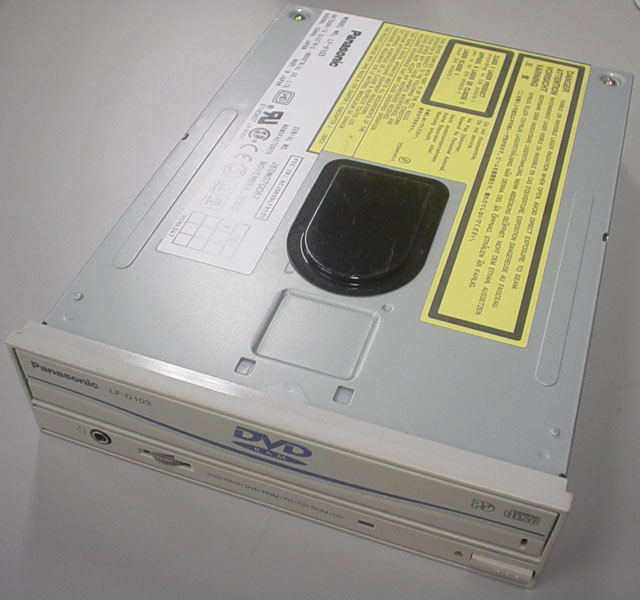 PANASONIC LF-D103 5.2GB 50PIN SCSI DVD RAM DRIVE LFD103 - Click Image to Close