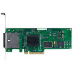 LSI LSI00138 PCI Express x8 SATA / SAS (Serial Attached SCSI) SAS3801E 8 Port 3G miniSAS
