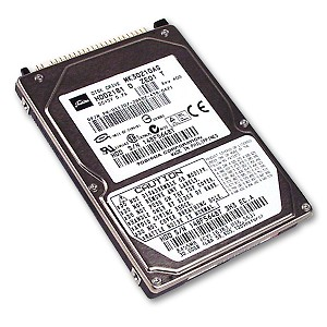 "Toshiba MK3021GAS (HDD2181) 30GB UDMA/100 4200RPM 2MB 2.5"" IDE Hard Drive - Click Image to Close"