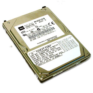 "Toshiba MK4021GAS (HDD2182) 40GB UDMA/100 4200RPM 2MB 2.5"" IDE Hard Drive"