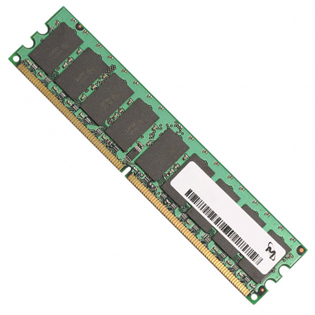 Micron 512MB PC2-5300 DDR2-667MHz ECC Registered CL5 240-Pin DIMM