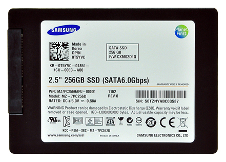 "Samsung 830 Series 256GB SATA 6.0Gbps 2.5"" Solid State Drive MZ7PC256HAFU SSD"