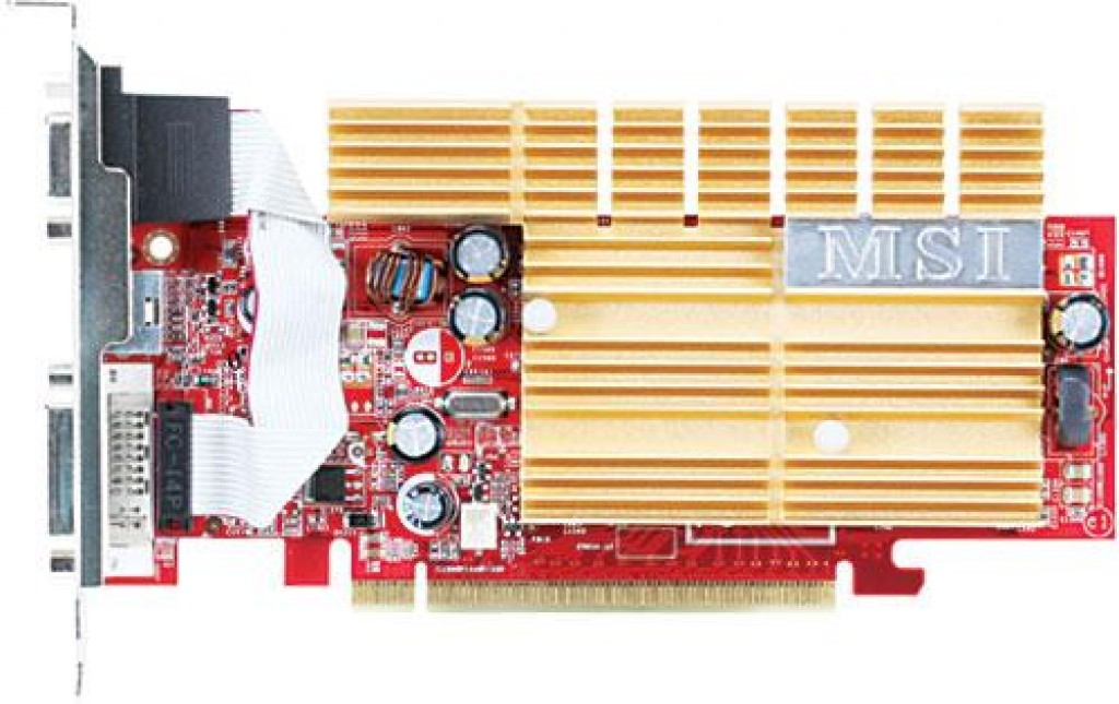 MSI 7300GS GeForce 7300 GS 256MB DDR2 PCI-E Graphics Card