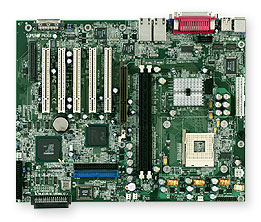 SUPERMICRO SUPER P4SGR - motherboard