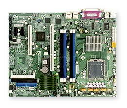 SUPERMICRO P8SCI-B E7221 LGA775 800FSB VIDEO 2Gb-LAN SATA-150(RAID) ATX OEM BARE MOTHERBOARD