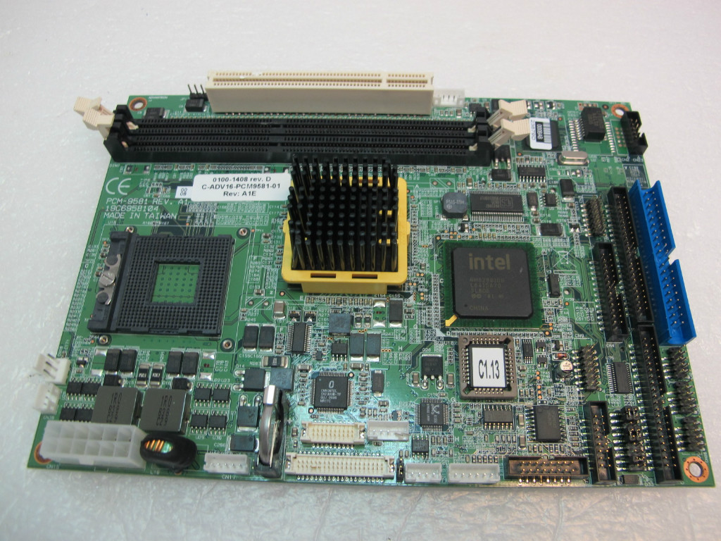 ADVANTECH PCM-9581 REV.A1 SINGLE BOARD COMPUTER