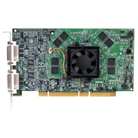 Matrox PH-P256F Parhelia 256MB PCI-X 64-bit Workstation Video Card PH-P256
