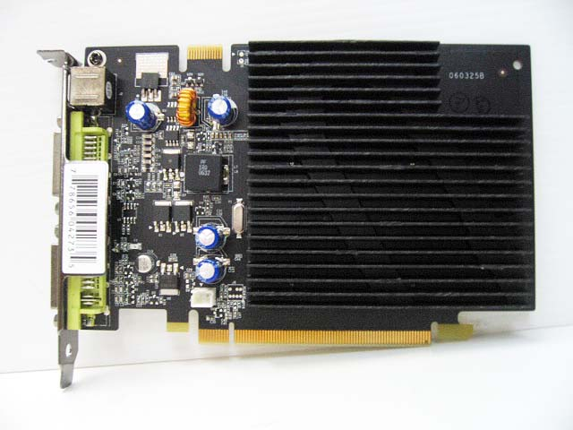 GEFORCE 7600 GS PV-T73P-UDJ3 VE.2 256MB DDR2 DUAL DVI TV PCI-E VIDEO CARD
