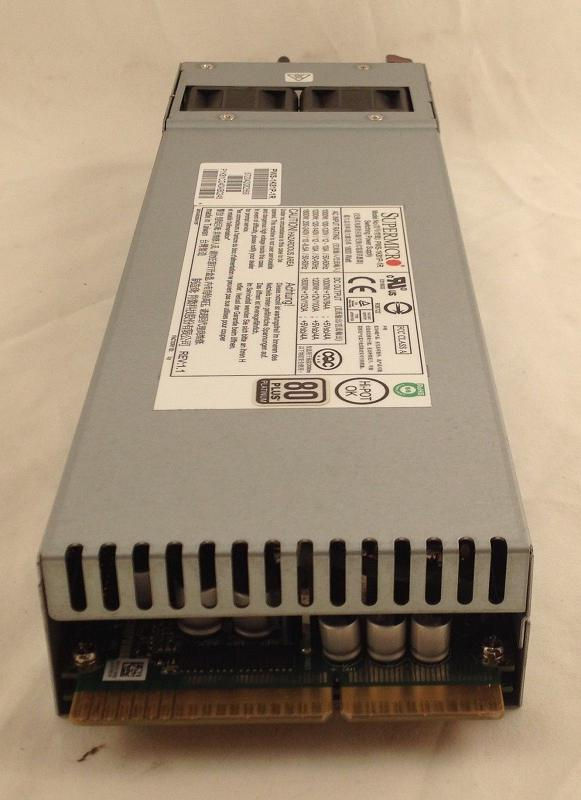 Supermicro PWS-1K81P-1R - 1800 Watt - 80 Plus - Platinum - Redundant Power Supply