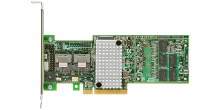 Intel 1GB DDR3 8-Port PCI-Express 2.0 x8 SAS-2/SATA-3 Low Profile Raid Controller Card (RS25DB080)