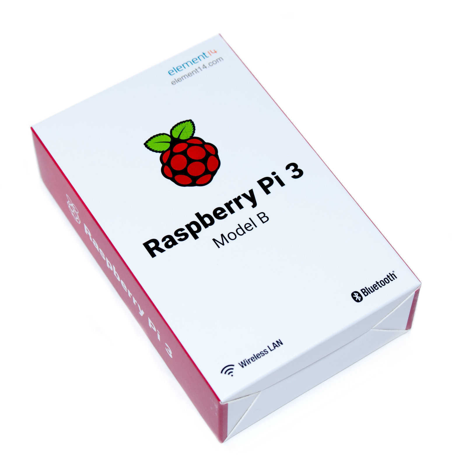 2016 Raspberry Pi 3 Model B 1GB RAM Quad Core 1.2GHz 64bit CPU WiFi & Bluetooth