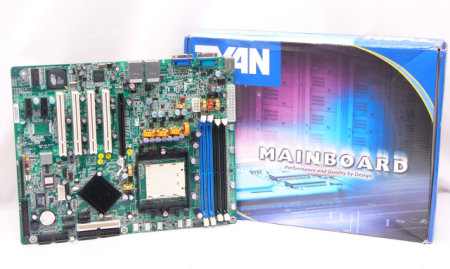 TYAN S2865G2NR-RS 939 NVIDIA nForce4 ATX AMD Opteron Server