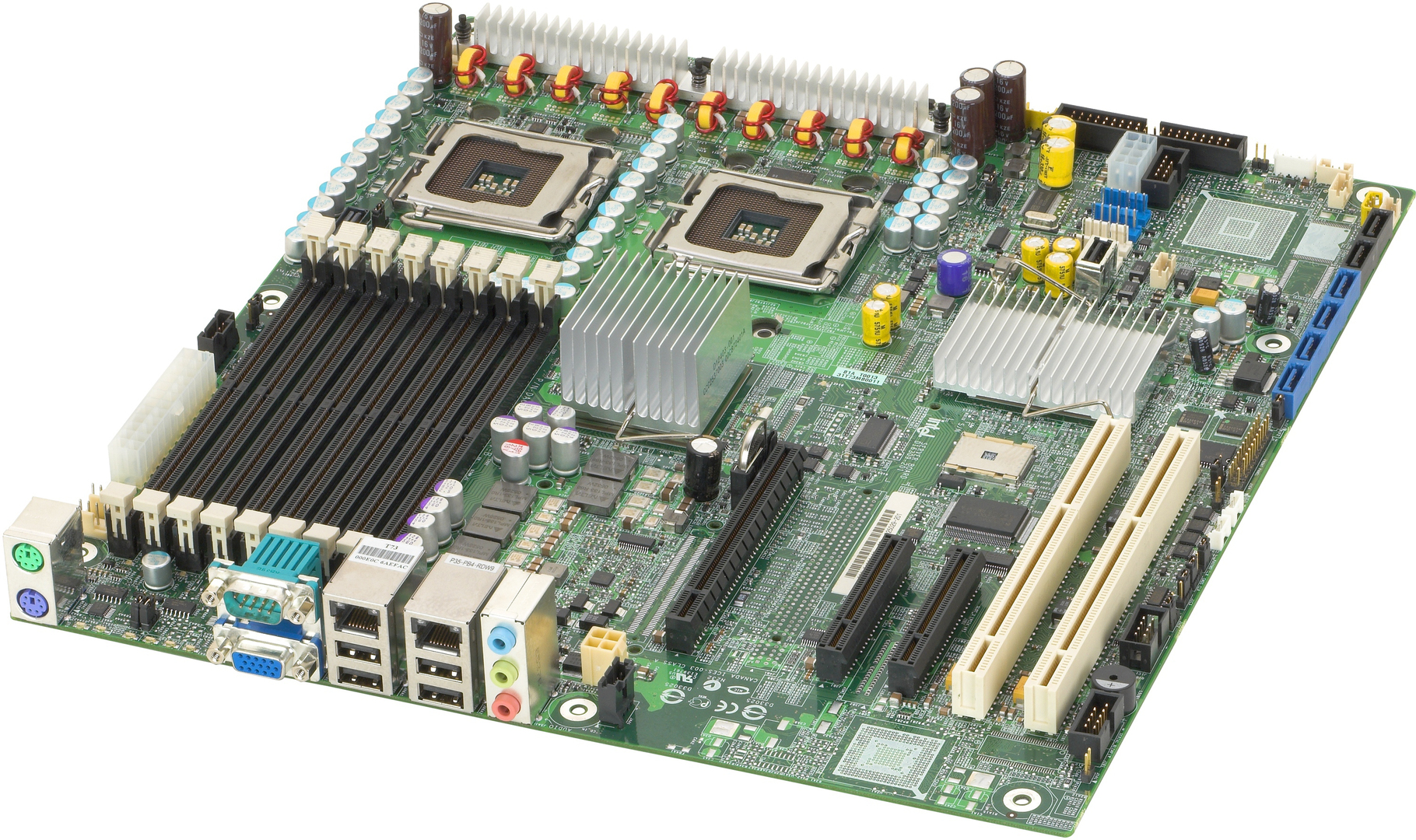 Intel S5000XVNSATAR Server Board SSI EEB LGA771