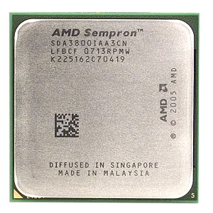 AMD Sempron 64 3800+ 2.2GHz 256KB Socket AM2 CPU