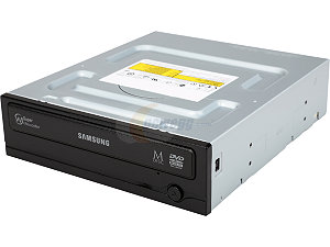 Samsung Black 24 Internal Sata DVDRW Half/Height no/Software, Model: SH-224FB/BEBE -OEM