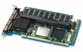 Intel SRCU42X Intel-332 Dual Channel SCSI 320Mbps PCI-Express Full-Height SAS/SATA Raid Controller Card