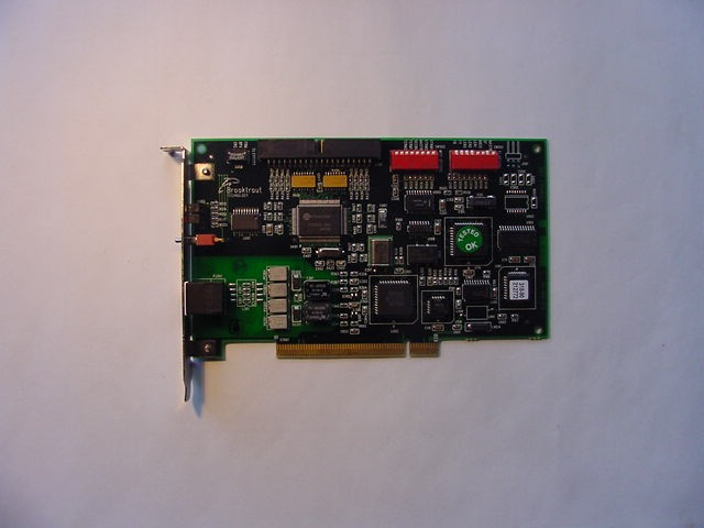 Brooktrout TRNIC+ P24T PCI INTERFACE BOARD