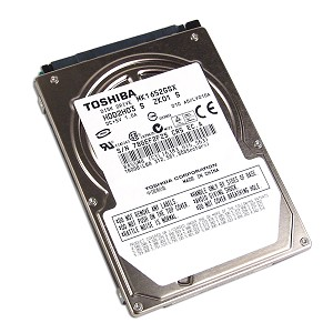 "TOSHIBA MK1652GSX(HDD2H03) 160GB 5400 RPM 8MB Cache 2.5"" SATA 1.5Gb/s Internal Notebook Hard Drive"