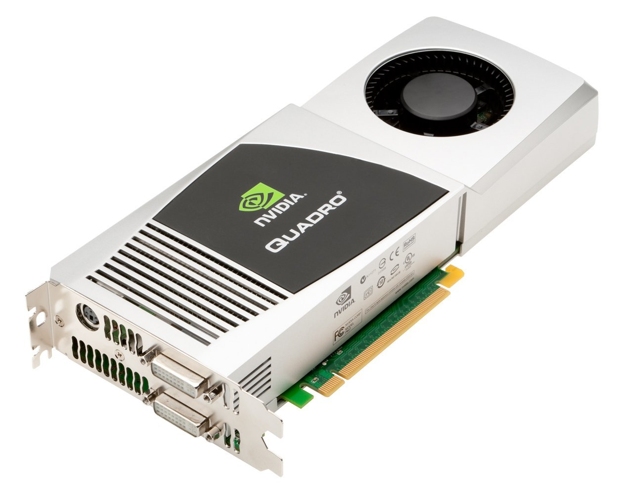 PNY VCQFX4800MACX16-PB NVIDIA Quadro FX 4800 1.5Gb GDDR3 PCI-Express 2.0 x16 Video Graphic Adapter