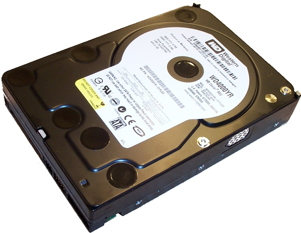 "Western Digital Caviar RE2 WD4000YR 400GB 7200 RPM 16MB Cache SATA 1.5Gb/s 3.5"" Hard Drive - OEM"