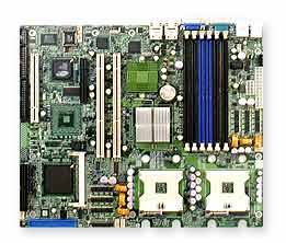SUPERMICRO MB X6DVA-EG E7320 DUAL XEON800 DDR IDE PCI EXPRESS ATX - Click Image to Close