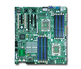 Supermicro X8DT3-LN4F Dual LGA1366 Intel 5520 EATX Server Motherboard