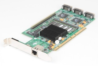 Areca ARC-1130ML MULTI LANE 3 Port 12 Channel 64-bit/133MHz PCI-X SATA II Controller Card