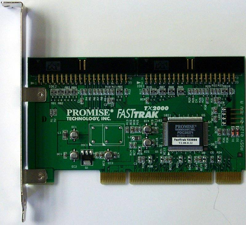 Promise FastTrak TX2000 2-Channel Ultra ATA133 RAID 010+1