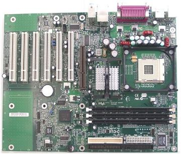 Intel D845WN Desktop Motherboard Socket 478 ATX 400FSB SDRAM PC-133 - BLKD845WNL